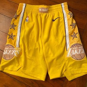 Los Angeles Lakers Nike City Edition Shorts